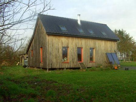 Maison Paille Bois Et Terre En Auto Construction A Vendre En Cotes D
