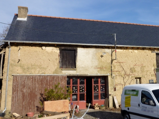 Renovation maison bretonne extension duune maison for Cout renovation longere