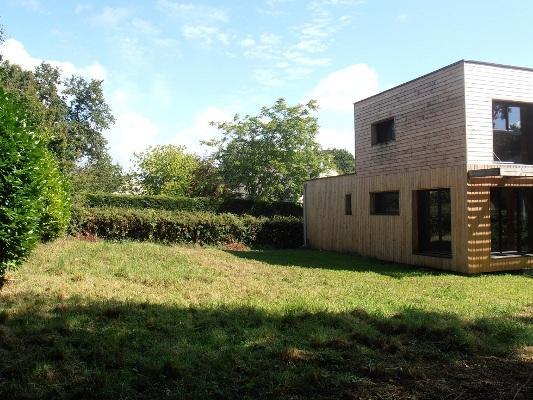 Maison quasi passive ossature bois vendre pr s de for Maison contemporaine nantes