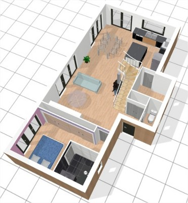 Maison quasi passive ossature bois vendre pr s de nantes loire atlantique 44 la for Plan amenagement maison d