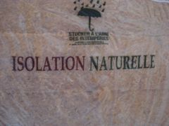 Isolation naturelle