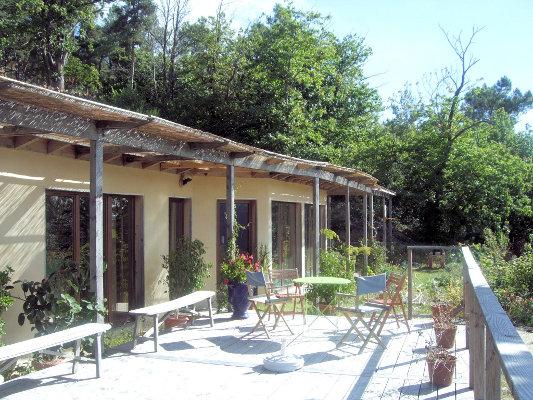 habitat group co hameau maison en paille bioclimatique vendre en ard che 07 le. Black Bedroom Furniture Sets. Home Design Ideas