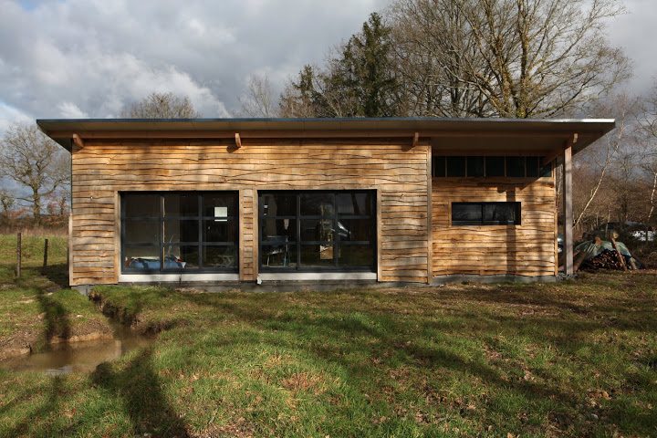 Construction cabane ecologique - Maison en kit ecologique ...
