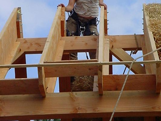 maison en paille en auto construction vendre pr s de montargis dans le loiret 45 la. Black Bedroom Furniture Sets. Home Design Ideas