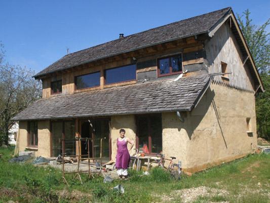 Maison En Paille En AutoConstruction  Vendre Prs De Montargis