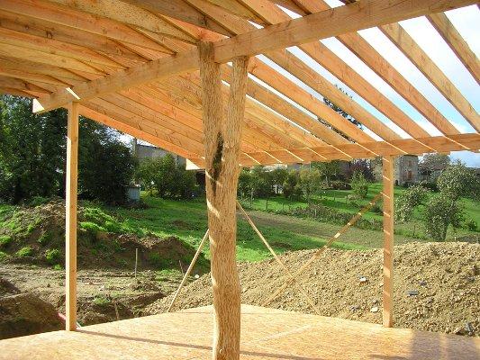 Maison écologique en paille à vendre en Auvergne, Puyde  ~ Poutre Bois A Vendre