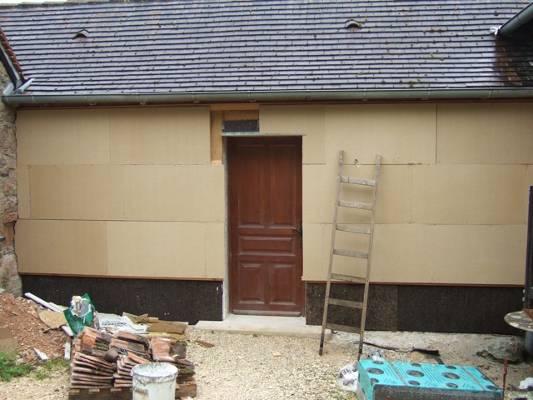 Maison cologique vendre en dordogne 24 pr s de brive la gaillarde corr - Isolation exterieure laine de bois ...