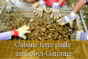 Chantier participatif Lot-et-Garonne 47