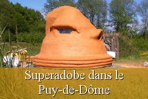 Formation superadobe chantier participatif ecodome