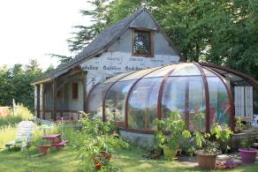 Green home for sale Normandy Eure