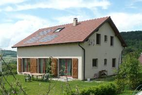 Eco-friendly and bioclimatic house for sale, South of Nancy - Lorraine, Meurthe-et-Moselle (54) - France