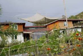Eco-home for sale Europe mountains Bulgaria Greece permaculture aquaponics