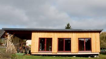 Revente maison bois cette extension ossature bois sur for Cuisine 3d parthenay