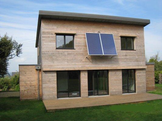 Maison En Bois A Vendre En Bretagne Finistere 29 La Cubique