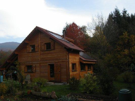 Chalet vendre dans le massif vosgien territoire de for Construction bois vosges