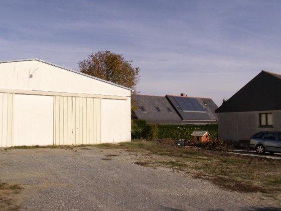 Maison conomique vendre pr s d 39 angers maine et loire - Maison hangar ...